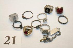 Bracelet, Several Rings