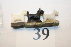 3 Scotty Dogs