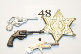 Tin Badge, 3 Guns
