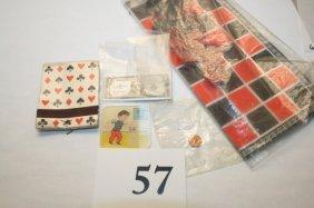 Paper Items: Checker Board