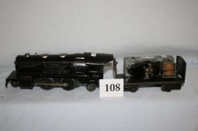 Lionel Tin 258 With Tender