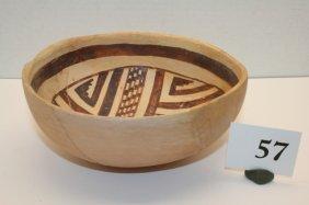 San Juan Pueblo II Pottery Bowl