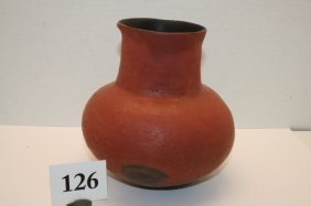 Hohokam Red Pottery Jar