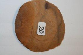 Neolithic Flint Disc