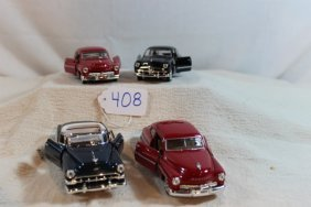 Group Of 4-vintage Cars