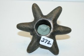 Sprocket Style Cast Copper Mace Head