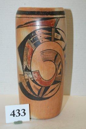Polychrome Hopi Cylinder Jar