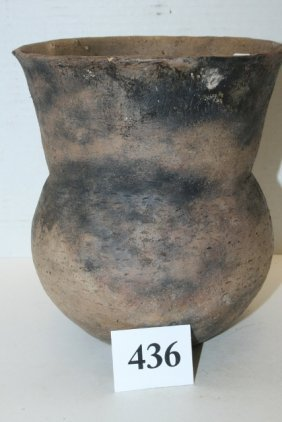 Flared Top Mississippian Pottery Urn
