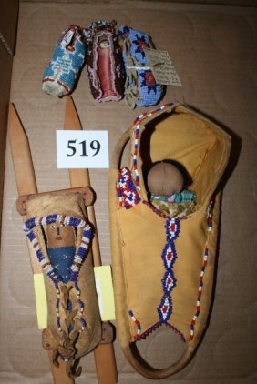 5 Assorted Cradle Boards