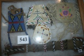 4 Late 20th Century Beaded Bags