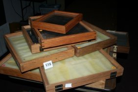 Assortment Of Wood Display Frames Will Not Ship