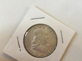 Year 1961 Silver Half Dollar