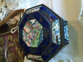 Antique Chinese Enamel Box Qing Dynasty