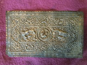 Antique Chinese Silver Plaque