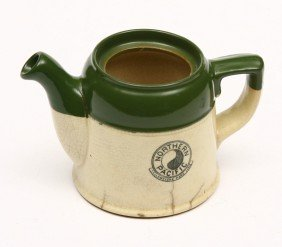 NORTHERN PACIFIC - Yellow Stone Park Line  Tea Pot