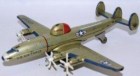 Rare Yonezawa Tin Lockheed Rc-121d Warning Star Usaf