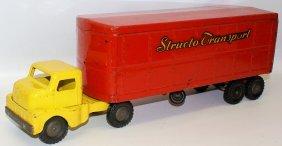 "Structo Transport 21"" Truck & Trailer Semi"