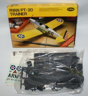 Testors 1:48 Ryan Pt-20 Trainer Wwii Plane Model Land