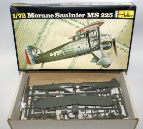 Heller 1:72 Morane Saulnier Ms 225 Fighter Plane Model
