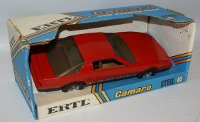 Ertl 1:16 #3691 Red Chevy Camaro Toy Car, In Box!