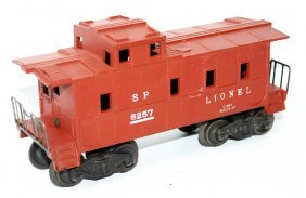 O Gauge Post-war Lionel 6257 Southern Pacific Caboose