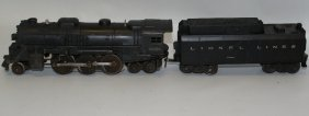 Lionel Train 2-6-4 Diecast 2036 Steam Locomotive &