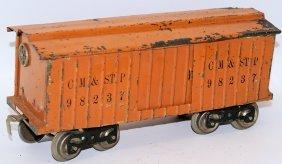 Prewar Lionel Train Standard Gauge Orange #14 Cm&stp