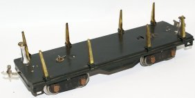 Prewar Lionel Train Standard Gauge 511 Log Lumber Car