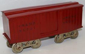 Prewar Lionel Train Standard Gauge Maroon #14 Cm & Stp
