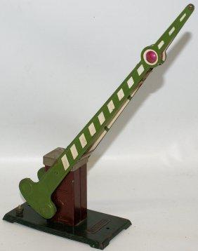 Prewar Lionel Standard Gauge #77 Green Crossing Gate