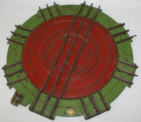 Prewar Lionel Standard Gauge Train #200 Turntable