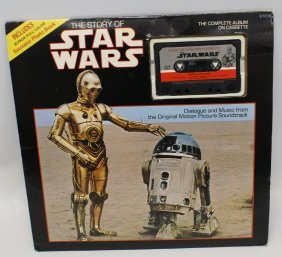 1977 The Story Of Star Wars Complete Album On Cassette