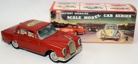 B.o. Tin Mercedes Benz 220 From The Model Car Series