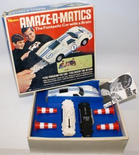 B.o. Hasbro Amaze-a-matics Mark Iv Ford Car Set #5865