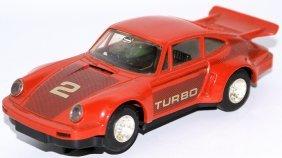 Scalextric 1:32 Red Magnatraction C125 Porsche 911 /