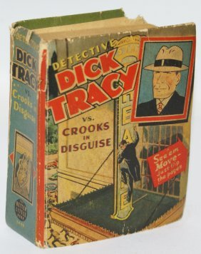 1941 Dick Tracy Vs. Crooks In Disquise #1479 Better Big