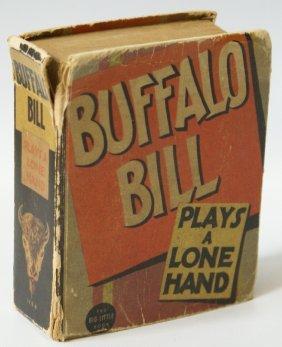 1936 Buffalo Bill Plays A Lone Hand #1194 Big Little