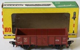 Fleischmann Ho High Sided Gondola Goods Wagon In Box