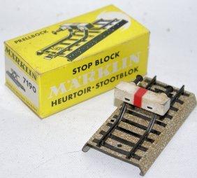 Ho 7190 Marklin Märklin M Track Buffer Stop Block In