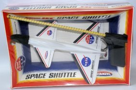 Nasa Free Flying Trigger Jet Space Shuttle #2500 Plane