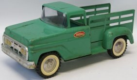 60's Tonka Farm Stepside Stake Delivery Pickup Truck