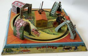 1927 Marx Pinched Wind-up Tin Toy
