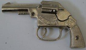 Cast Iron Pistol Cap Gun 'invincible' By Kilgore,