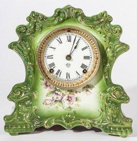 Ansonia China Clock