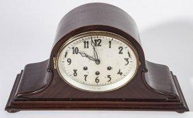 Gustav Becker Mahogany Clock With Chimes