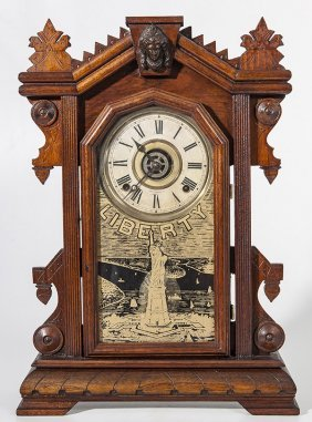 Ingraham Spanish American War Kitchen Clock