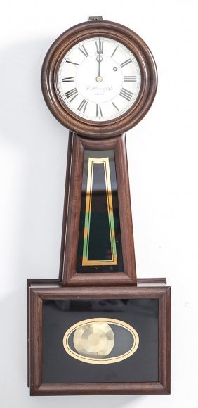 E. Howard Reproduction Banjo Clock