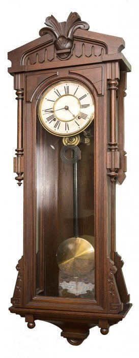 Ansonia Bagdad Regulator No. 8 Wall Clock
