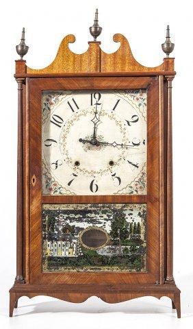 Eli Terry & Sons Pillar & Scroll Clock