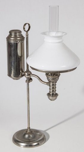 Single Student Oil Lamp